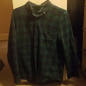 Men's Button up Flannel shirt
